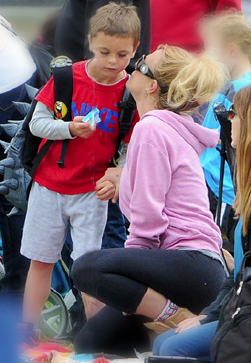Britney Spears and Son Sean Preston