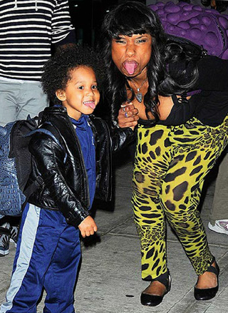 Jenifer-Hudson-and-Son-David